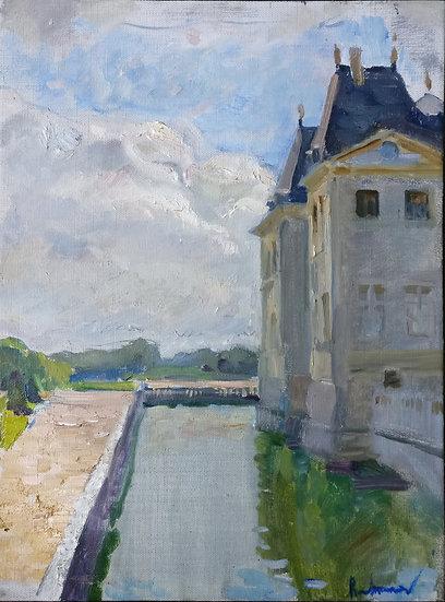 Vaux-le- Vicomte. Sunny Day