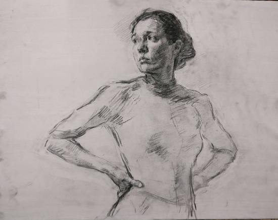 Portrait of Katya