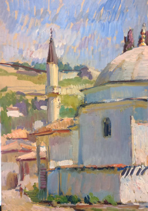 Mosque in the sun