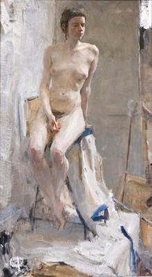 Nude in Contre Jour