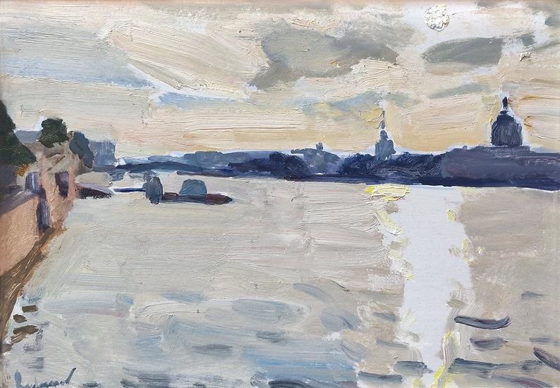 """""""Morning over Neva river"""""""