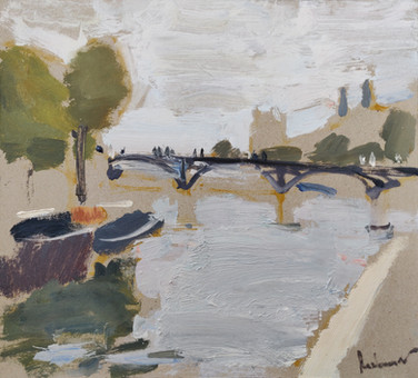View on the Louvre