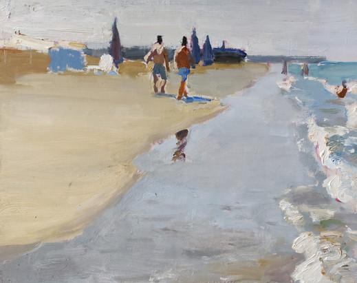 Beach in Mardakan