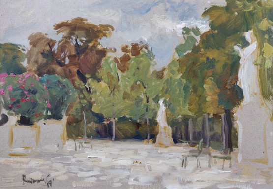 Garden of Louxembourg