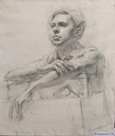 Male Portrait Study