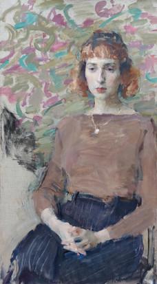 Portrait of Violetta Prizkau