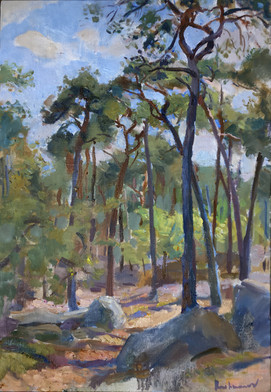 """Forest of Fontainebleau"""