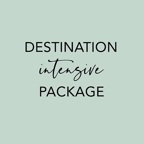 Destination Intensive Package