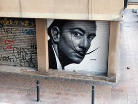 Portrait of Salvador Dalí