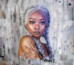 Nyane | Oil paint