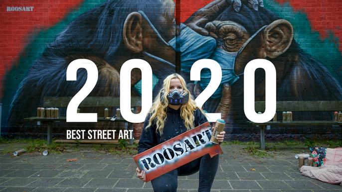 Best Street Art & Paintings of 2020!