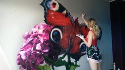 Butterfly | Mural
