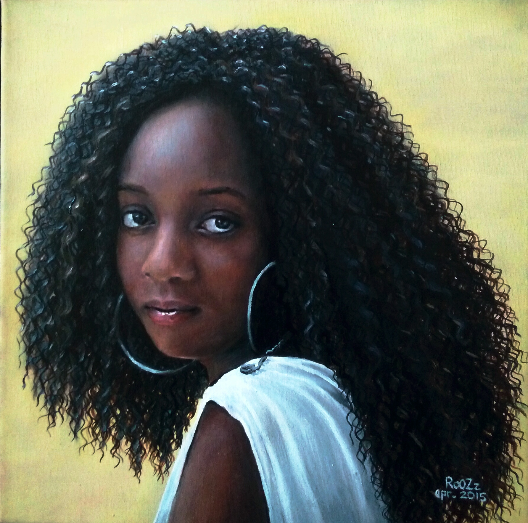 Brandy | Oil painting