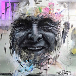 Portrait of grandpa | Acrylics