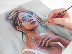 Charlotte | Oil paint