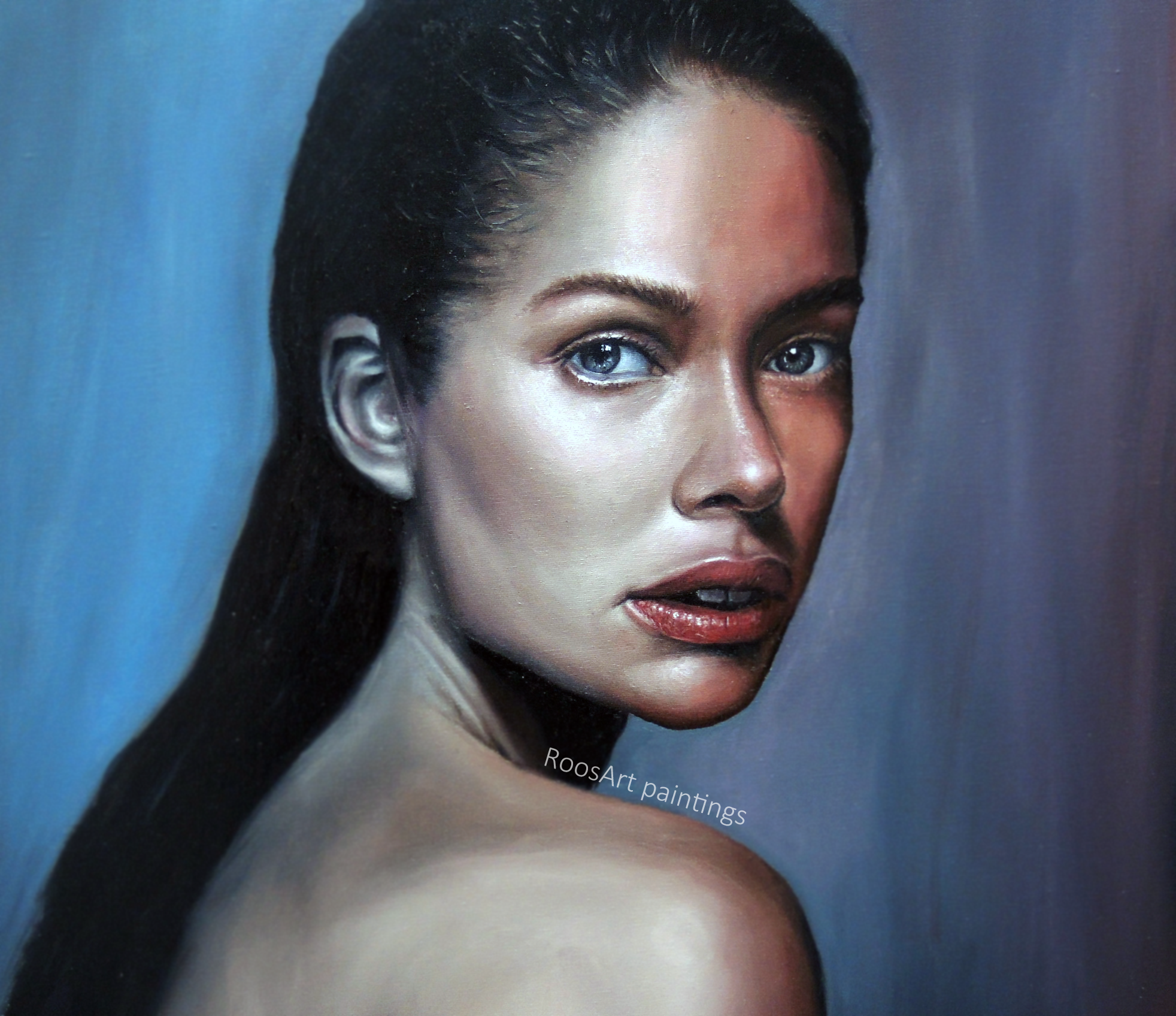 Doutzen | Oil paint