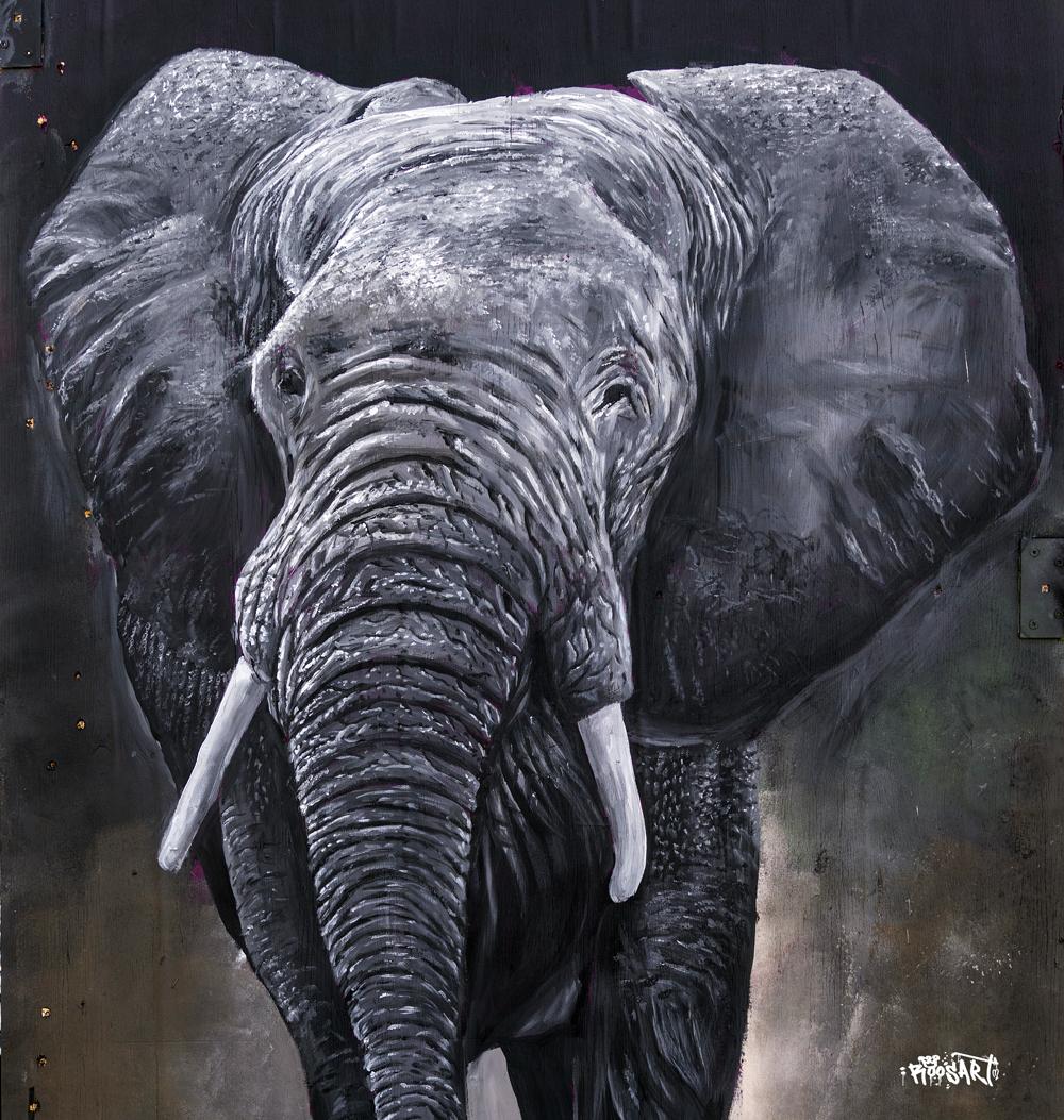Elephant | Mural