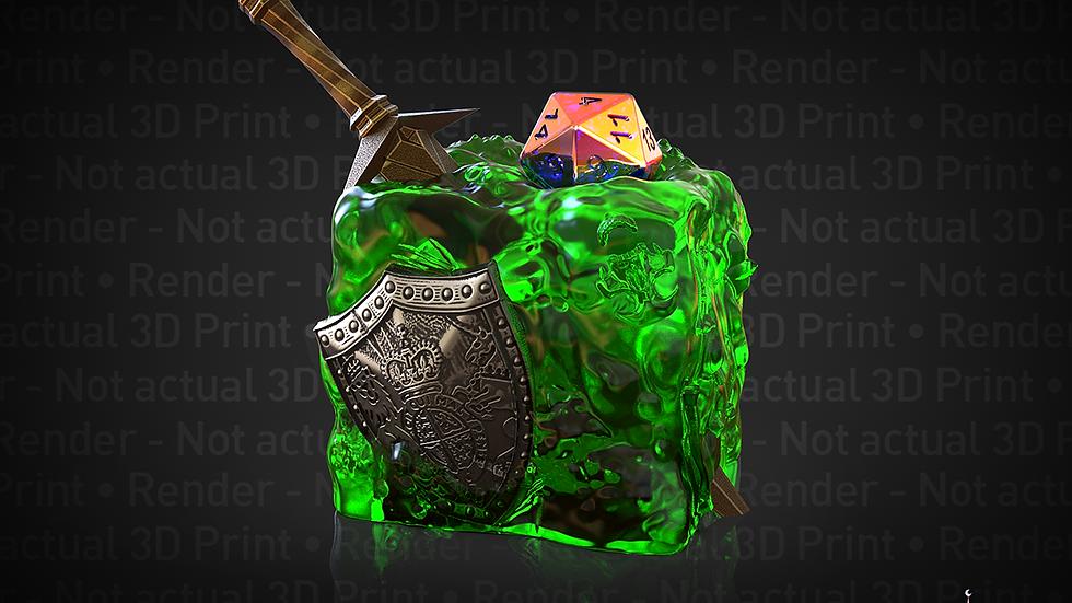 Gelatinous Cube Dice Jail