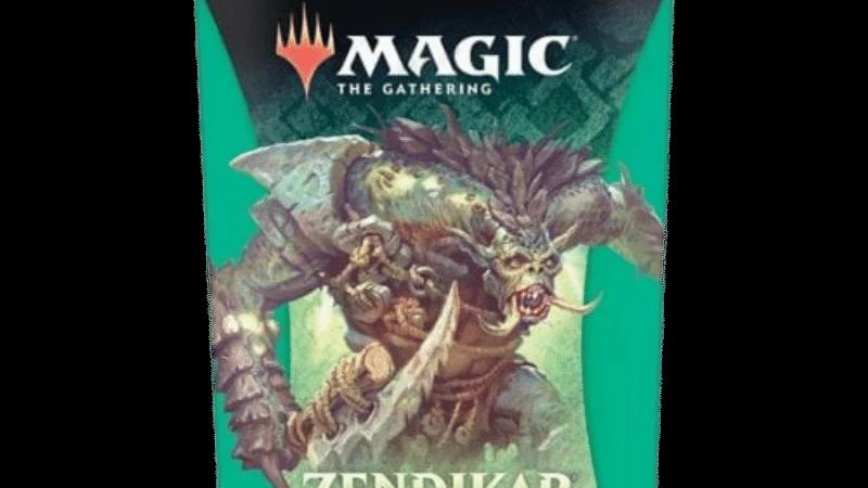 MAGIC: THE GATHERING ZENDIKAR RISING THEME BOOSTER - GREEN