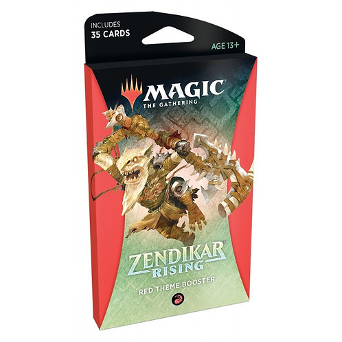 MAGIC: THE GATHERING ZENDIKAR RISING THEME BOOSTER - RED