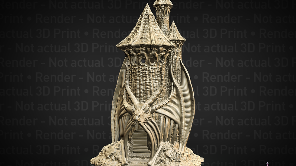 Skeletal Dragon Fates End Dice Tower