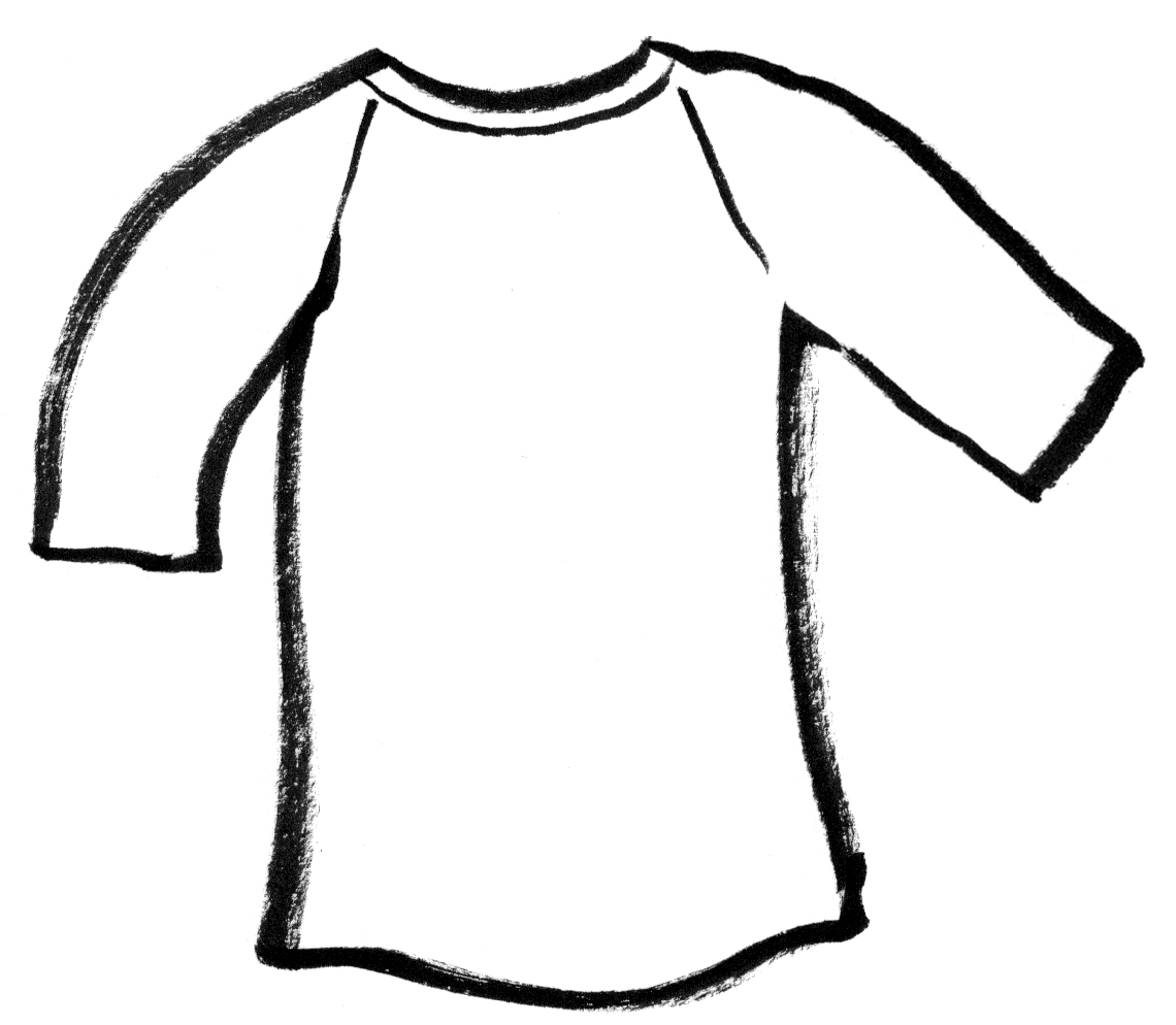 Blank T Shirt Coloring Sheet | Coloring Pages