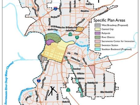 Population Demographics in the Sacramento Core Area