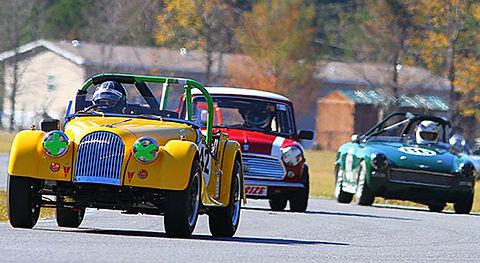 Vintage Racing Small Bore Mini, Midget, Sprite, MG