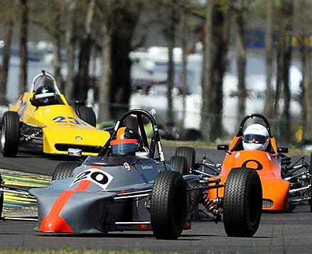 Vintage Car Racing Open Wheel Class
