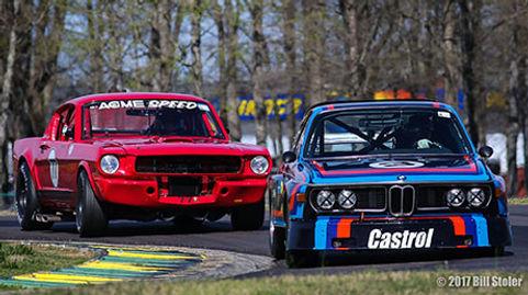 Vintage Racing Big Bore, Mutang, BMW, Corvette, Porsche, Camaro, V8