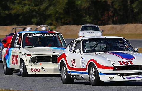 Vintage Racing Medium Bore Alpha, Datsun, Alpha Romeo, MG, Triumph