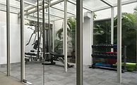 Glass gym