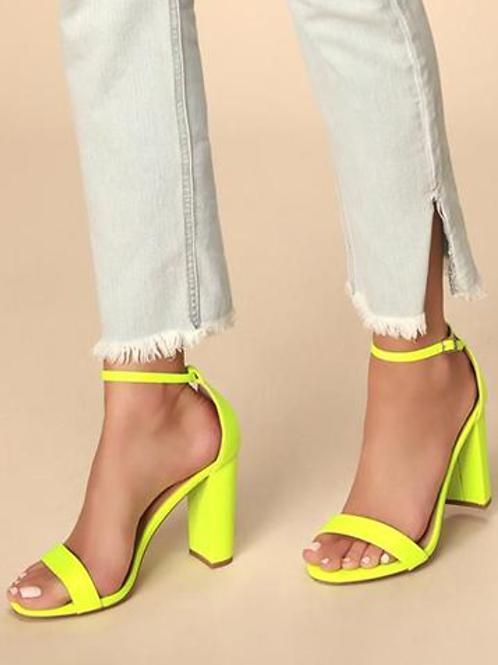 Level up Neon Heels