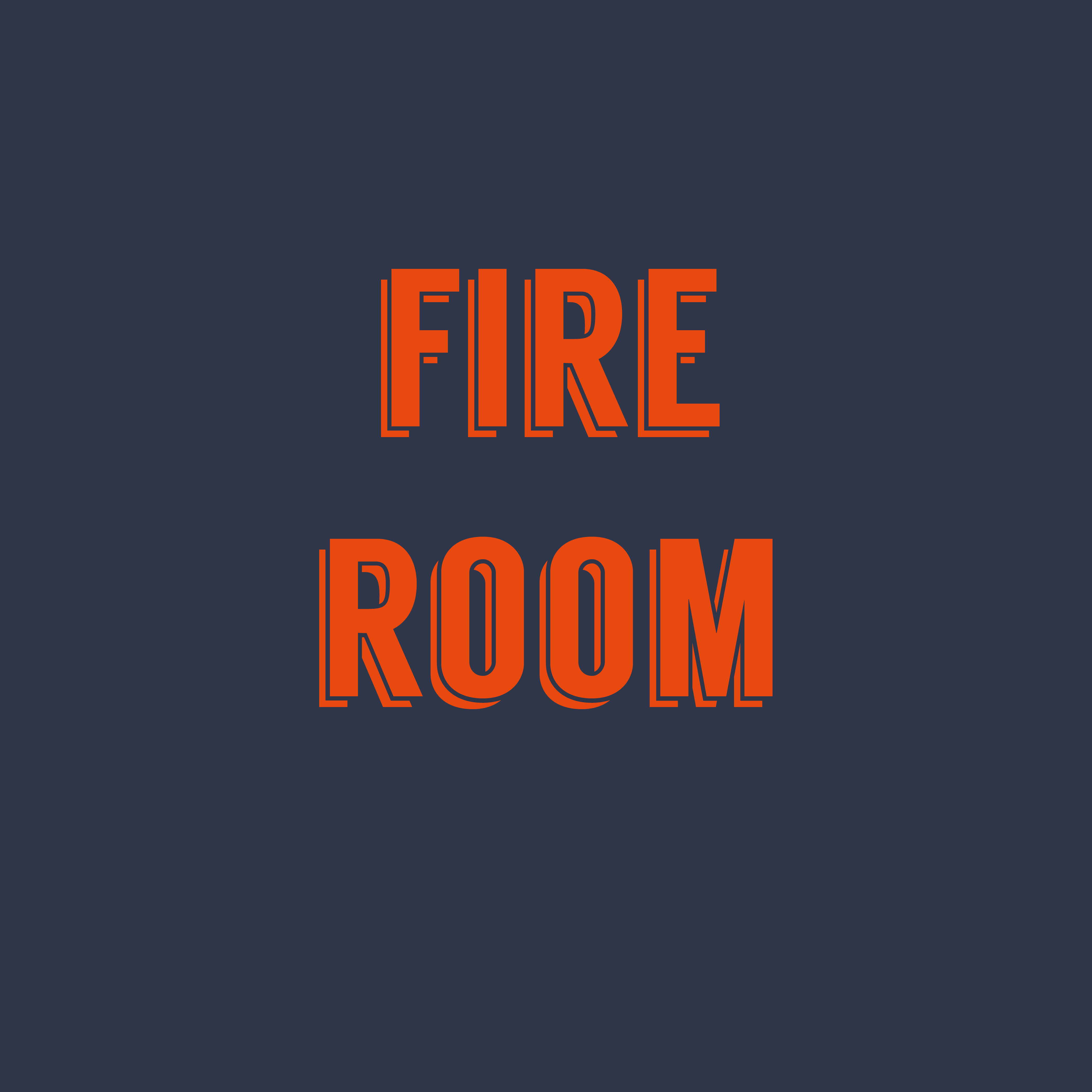 FIRE ROOM TABLE (4 PEOPLE)