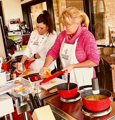 My Gluten-Free Gourmet Kitchen cooking classes.
