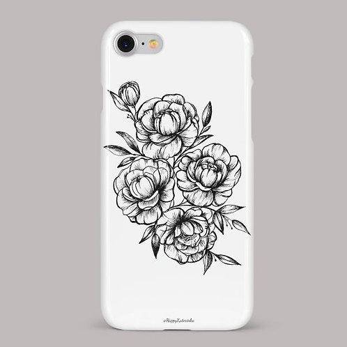 Чехол Каменные цветы