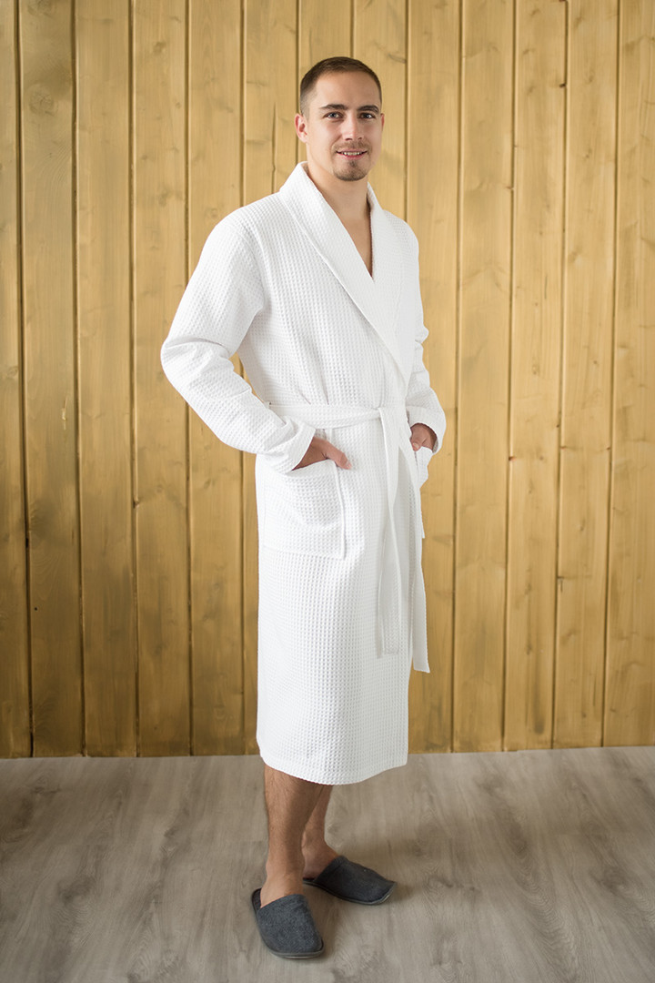 халат вафельный цвет Белый
