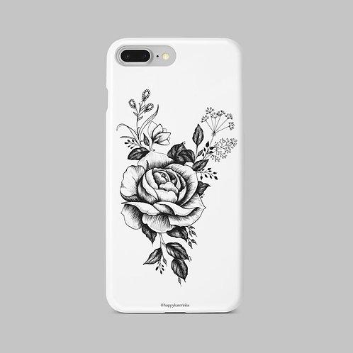 Чехол Садовая роза