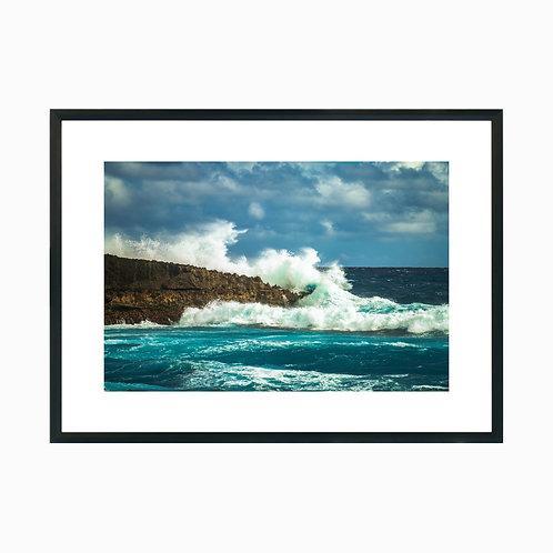 Crashing Wave at Oahu