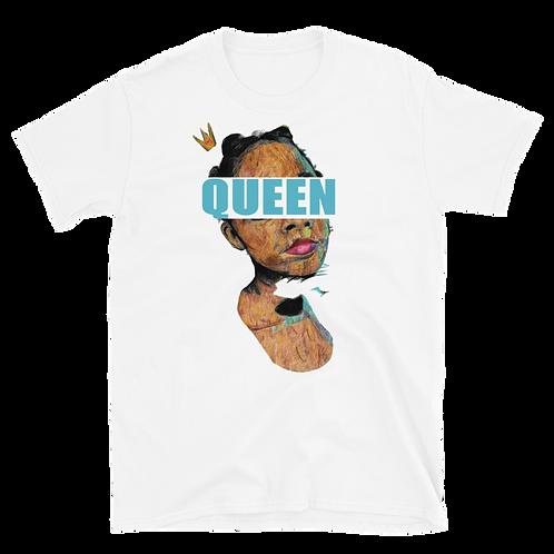 Queen (Blue) Short-Sleeve T-Shirt