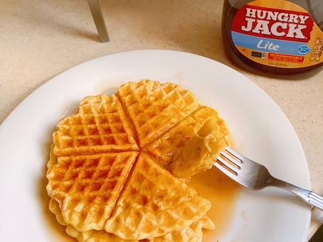 Sugar-free Waffles