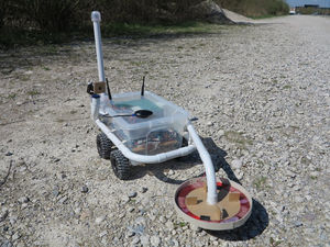 This Metal-Detecting Robot Is Your Grandfathers Dream Toy
