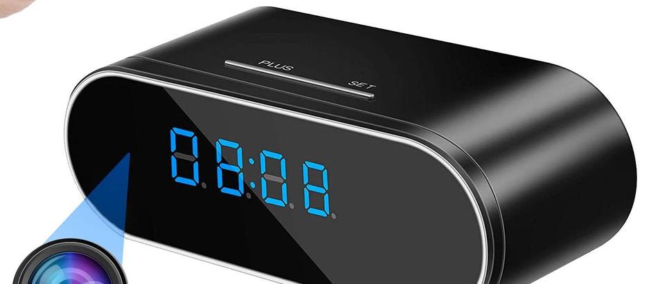 WEMLB Hidden Camera Alarm Clock