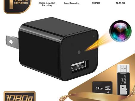 Tusionwin USB Charger Nanny Cam