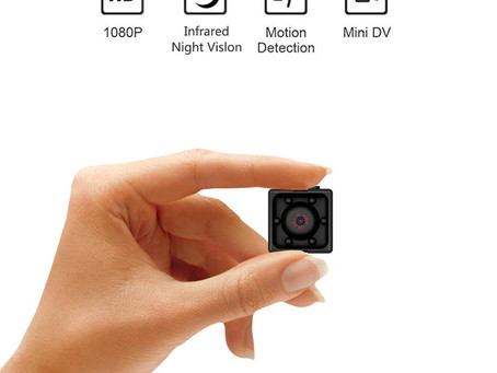 Tiny Spy Camera With Night Vision