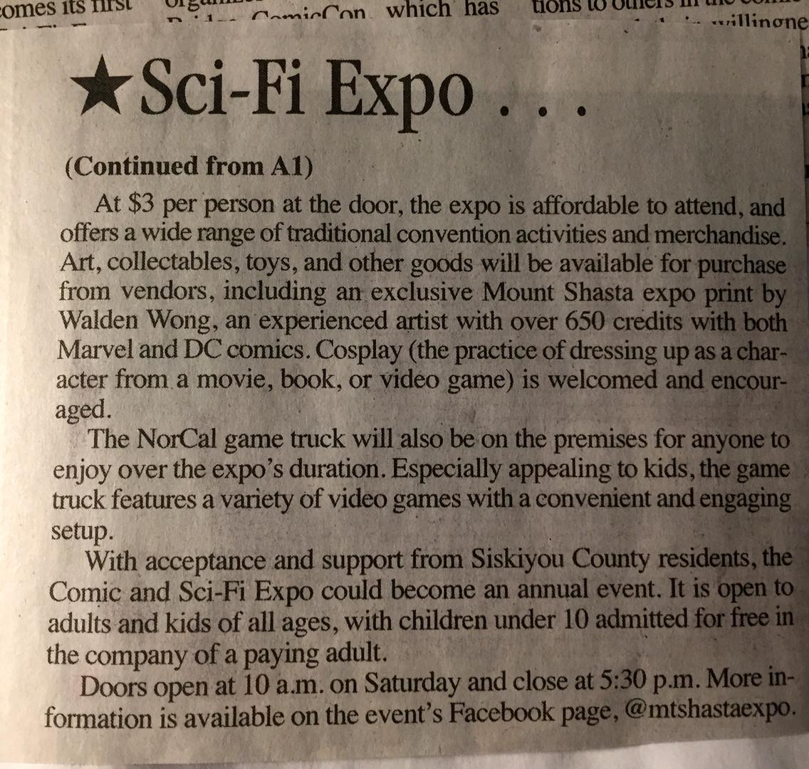 Sci-Fi Expo, cont
