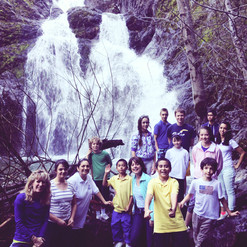 Fairy Falls near Lake Siskiyou