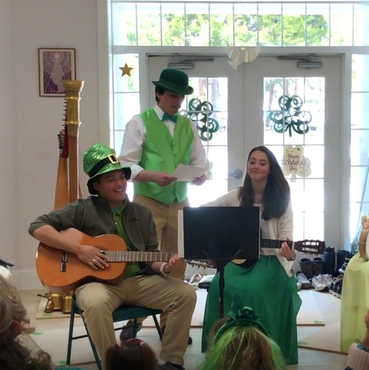 A little Irish ditty