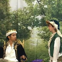 Robin Hood Play scene