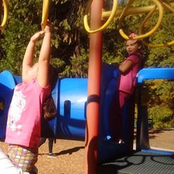 Kindy playground visit